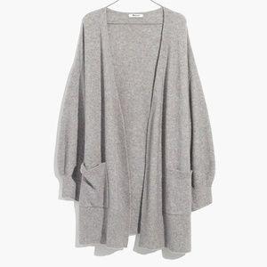 Madewell Alpaca Wool Blend Long Cardigan Sweater S